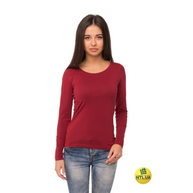 Футболка женская длинный рукав 41-2348