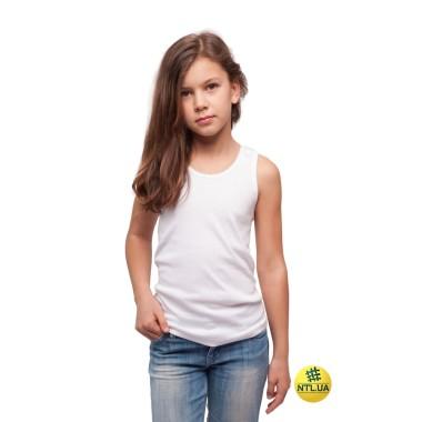 Майка детская широкая бретелька 21-4103