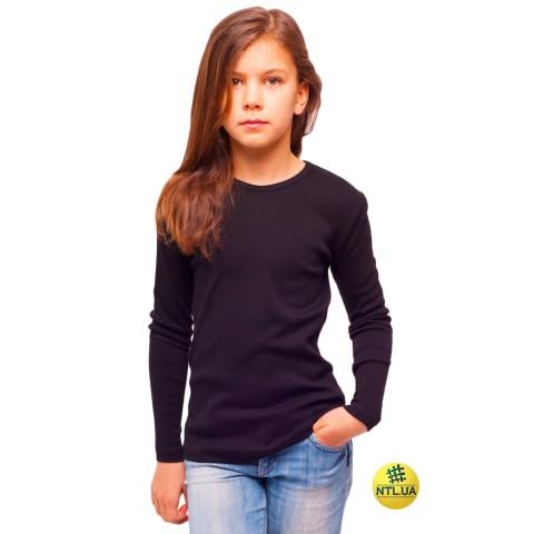 Футболка детская длинный рукав 21-3304