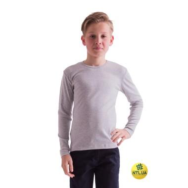 Футболка детская длинный рукав 21-3306