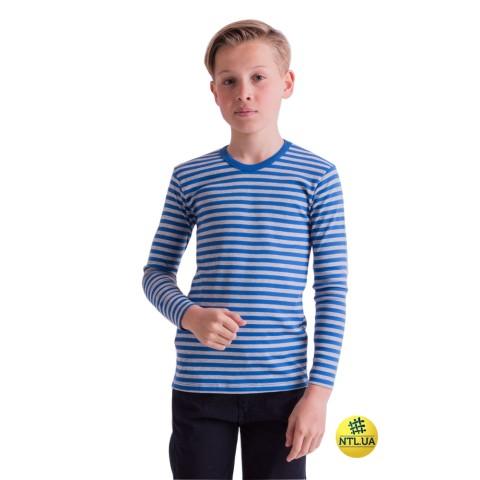 Футболка детская длинный рукав 21-3307